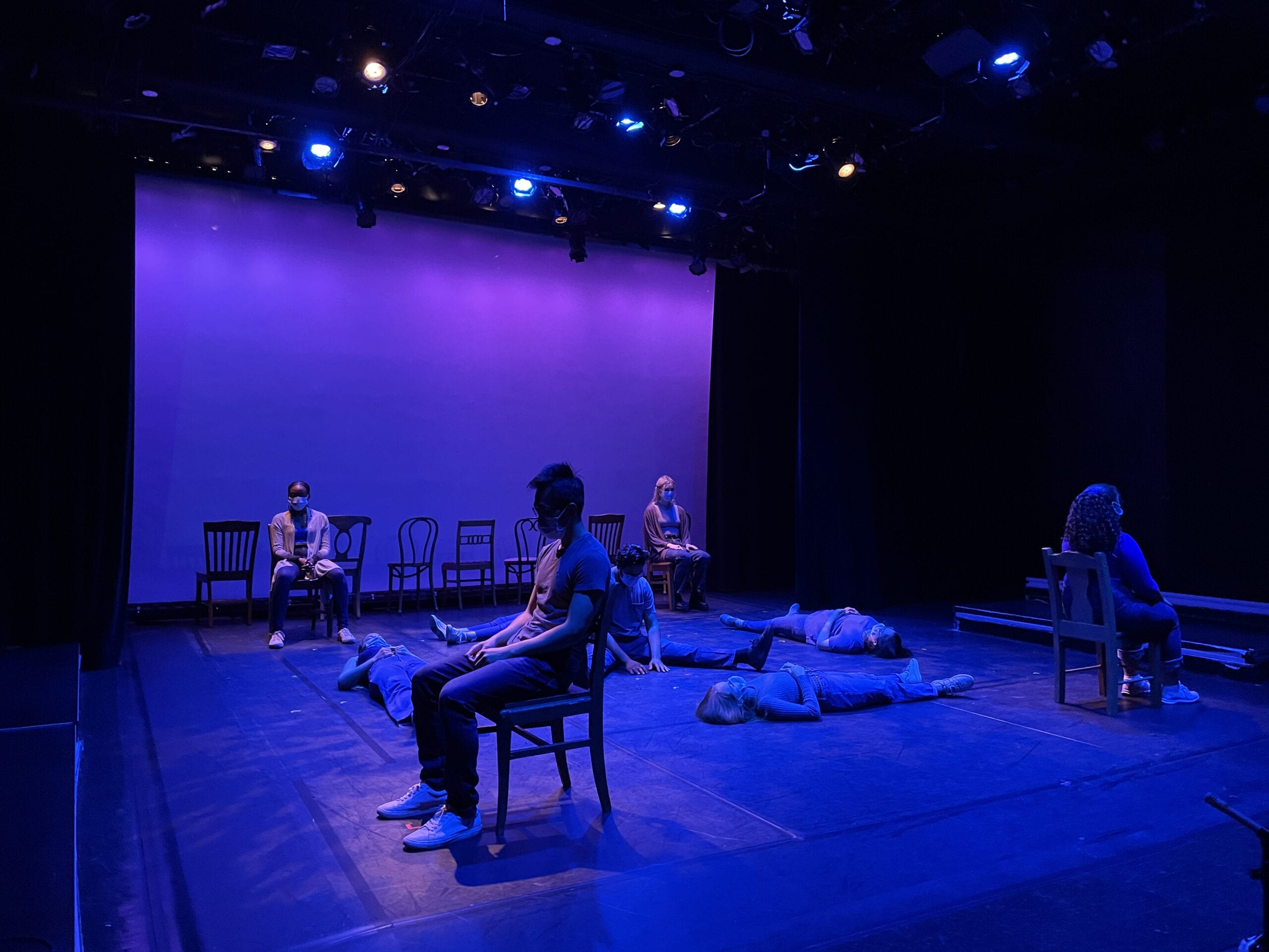 Creating live/filmed theatre in times of COVID